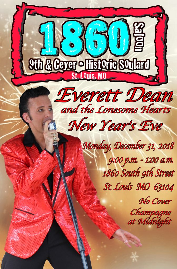 New Year's Eve at the 1860 Saloon @ 1860 Saloon | St. Louis | Missouri | United States
